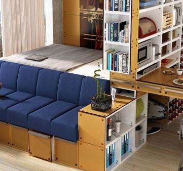 originalnie_resheniya_dlya_odnokomnatnoj_kvartiri Оригинальные решения для однокомнатной квартиры