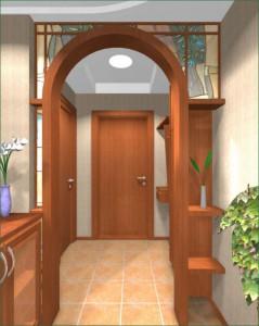 Remont_prihozhej_v_panelnom_dome-06-300x225 Ремонт прихожей в панельном доме