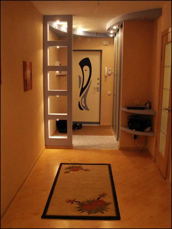 Дизайн прихожей и коридора в квартире: большие и