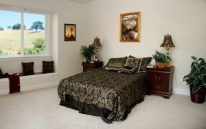 Дизайн спальной комнаты светлых тонов