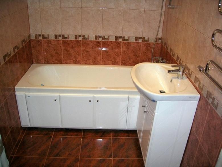 Решится сделать ремонт ванной комнаты