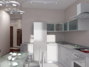 Современный вид дизайн ремонта кухни