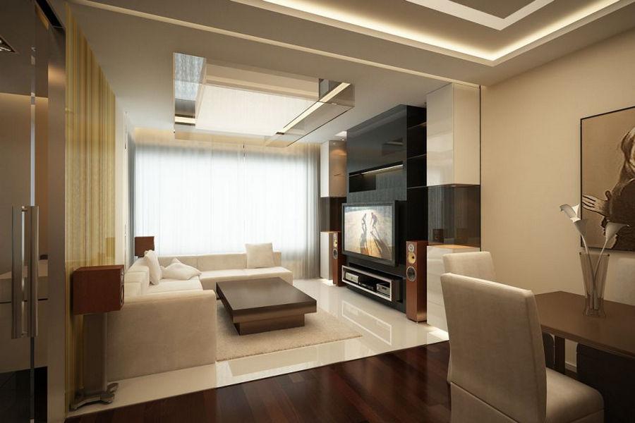 Интерьер и дизайн гостиной в квартире
