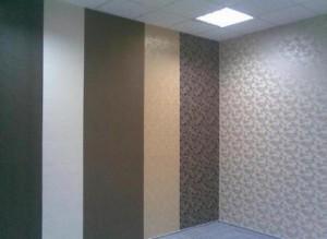 Различное цветовое решение поклейки комнаты