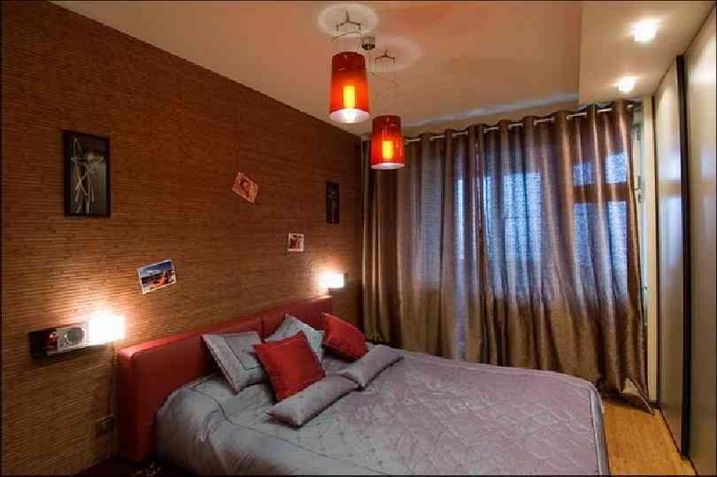 Дизайн спальни 11м2