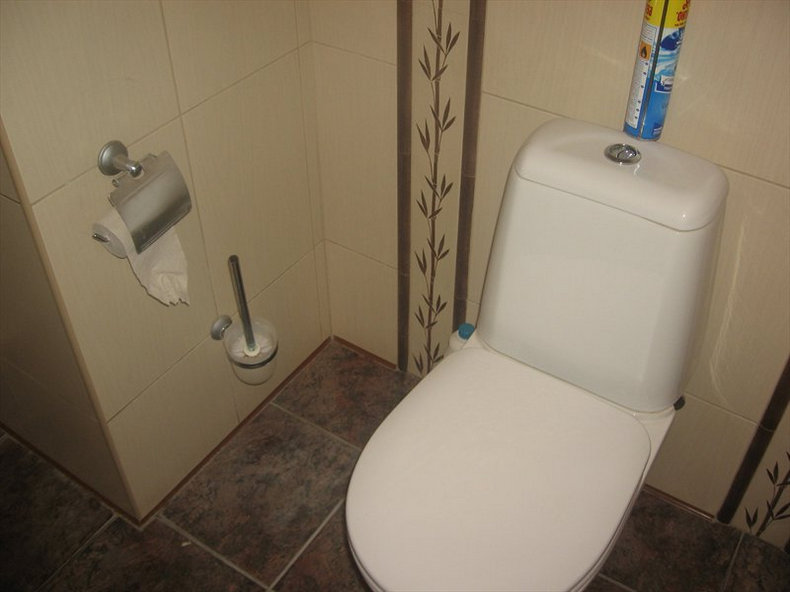 Ремонт туалета фото своими руками