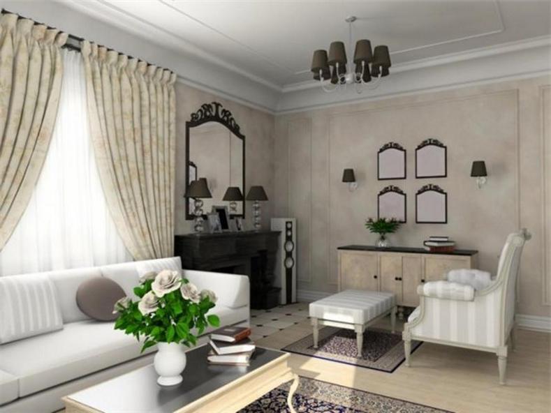 Выбор цвета интерьера гостиной с