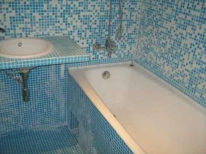 Мозаика в отделке ванной