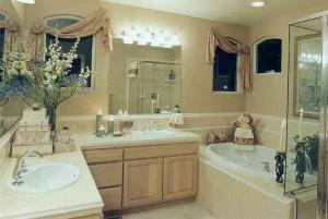 Результат ремонта ванной комнаты