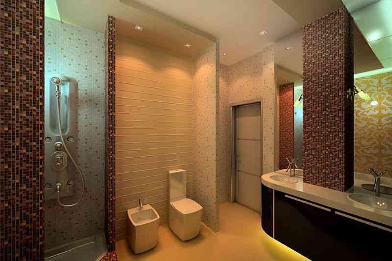 Туалет дизайн пластиковые панели фото