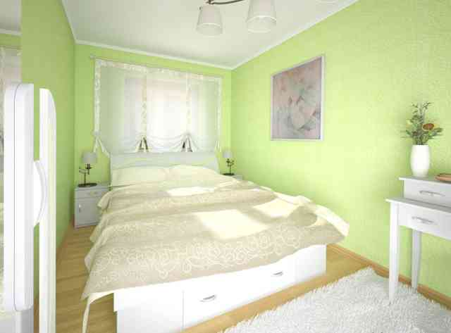 Дизайн маленькой узкой спальни фото