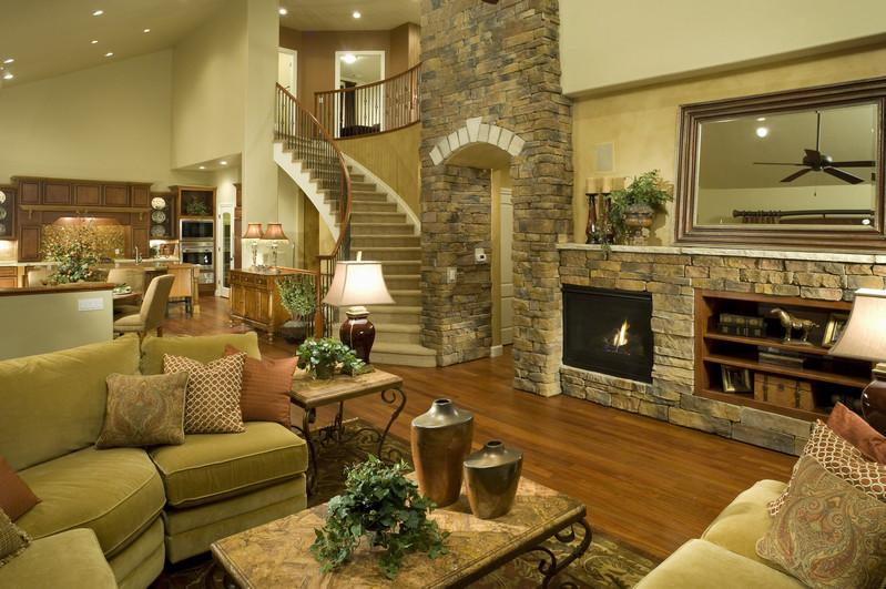 Attractive Home Interior Ideas: Интерьер гостиной комнаты