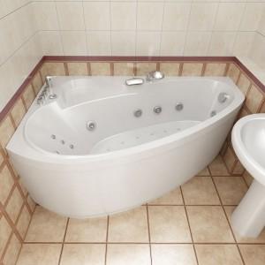 Вариант угловой ванны