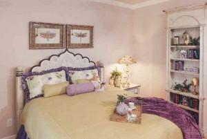 Вариант декора спальни
