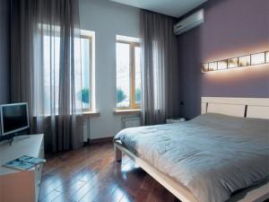 Вариант дизайна маленькой спальни