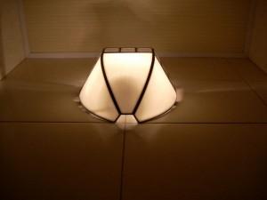 Один из вариантов светильника для туалета