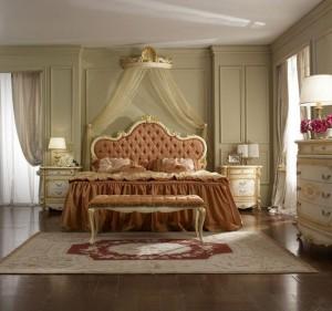 Вариант оформления кровати