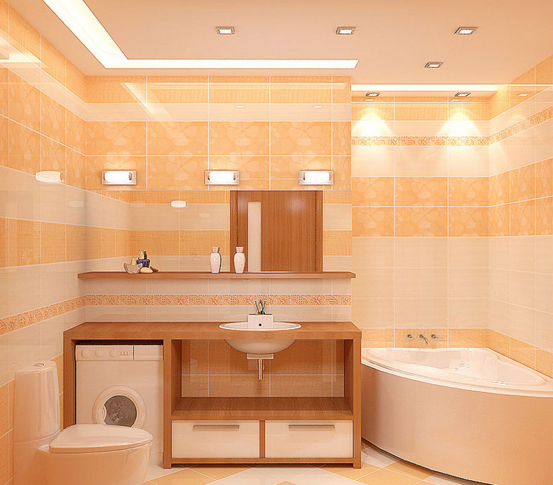 Освещение в ванной комнате видео