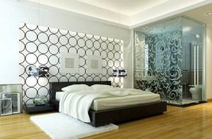 Вариант современного дизайна спальни