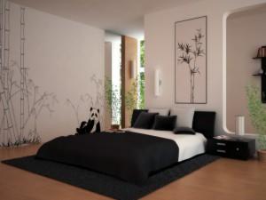 Один из вариантов стиля современного дизайна спальни