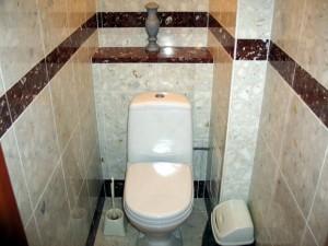 Отделка туалета фото