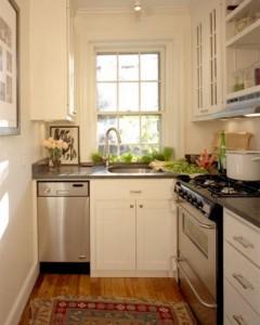 Вариант экономичного использования площади кухни