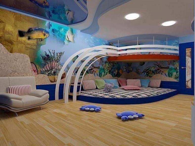 Дизайн комнаты вагончика