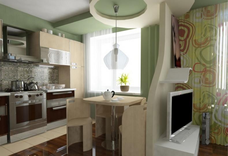 Совмещая раздельные кухни и гостиные