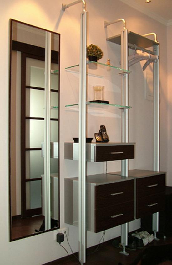 Дизайн зала стандартной квартиры