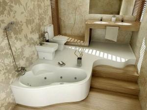 Перепланировка ванной комнаты фото