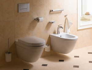 Вариант настенной сантехники для туалета