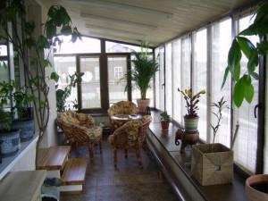 Одна из идей для балкона