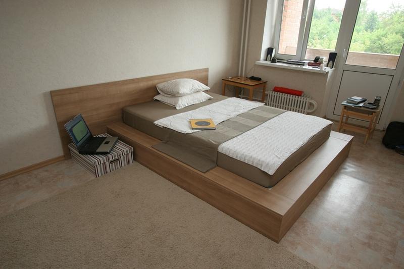 Кровать-подиум сделать