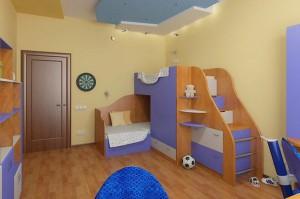 Интерьер детской спальни фото