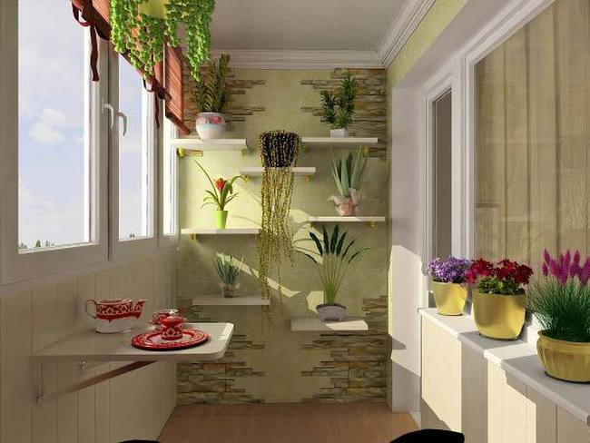 Балконы дизайн фото кабинет