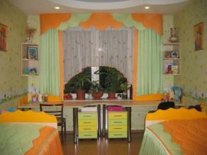 Пример  детской комнаты для мальчиков