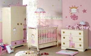 Вариант комнаты для новорожденных