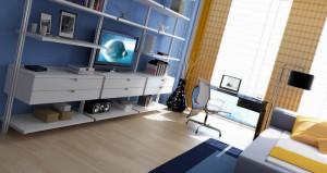 Пример оформления комнаты для подростка