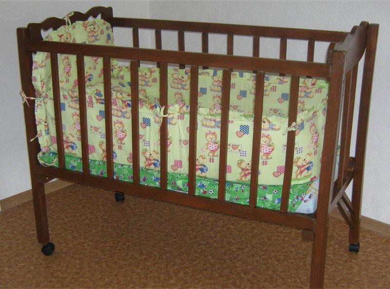 Как сделать детскую кроватку своими руками для новорожденного 41
