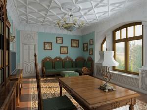 Элементы готического стиля в интерьере