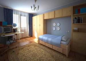 Detskaja_komnata_dlja_shkolnika-01-300x225 Детская комната для школьника