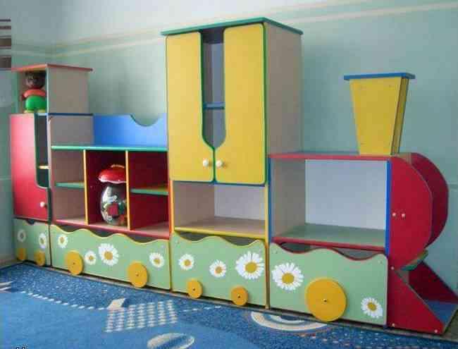 Мебель в детскую своими руками фото