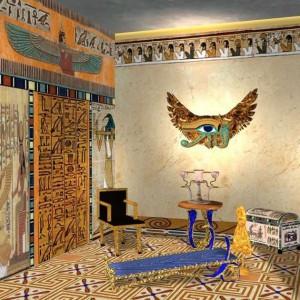 Вариант оформления в египетском стиле
