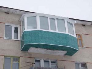 Как расширить балкон фото