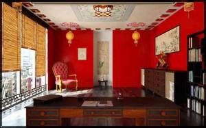 Вариант китайского стиля в интерьере