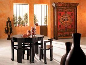 Китайский стиль в интерьере квартиры фото