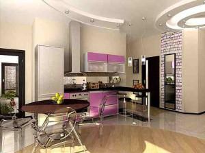 Кухня в современном стиле фото