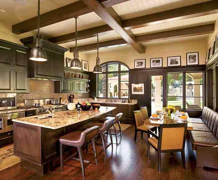 Как сделать потолок в деревянном доме - обустройство 10
