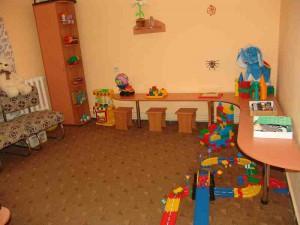 Пример оформления детской игровой комнаты
