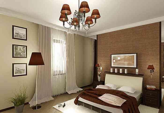 Торшер в спальне фото в интерьере